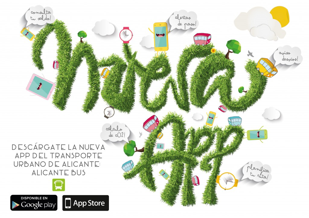Nueva app del transporte urbano de Alicante
