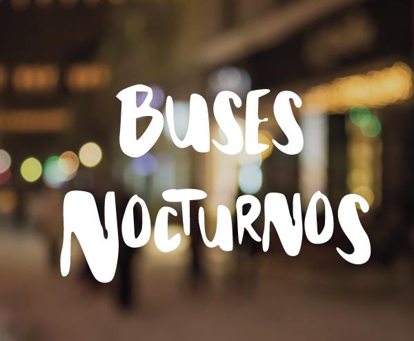 Slider Buses Nocturnos Alicante