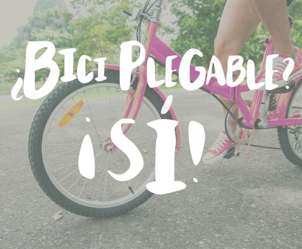 Slider bici plegable