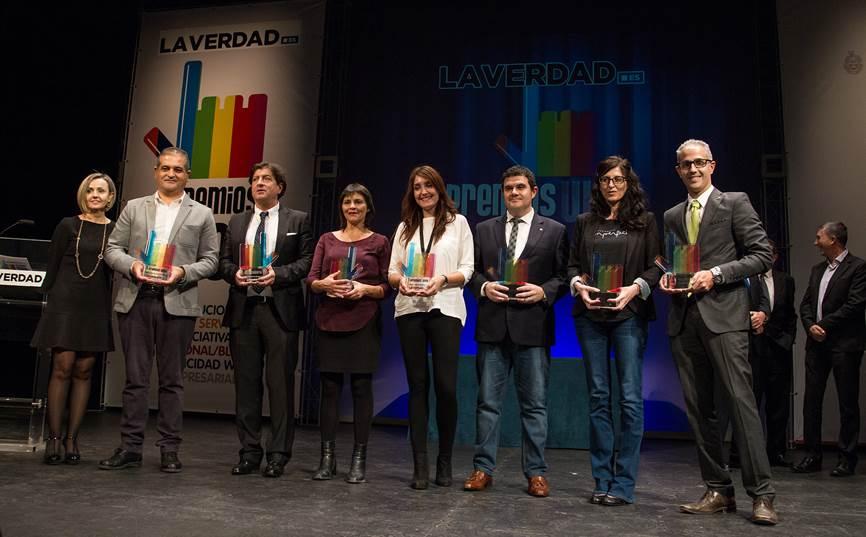 Vectalia Movilidad, ganadora en los premios web de La Verdad