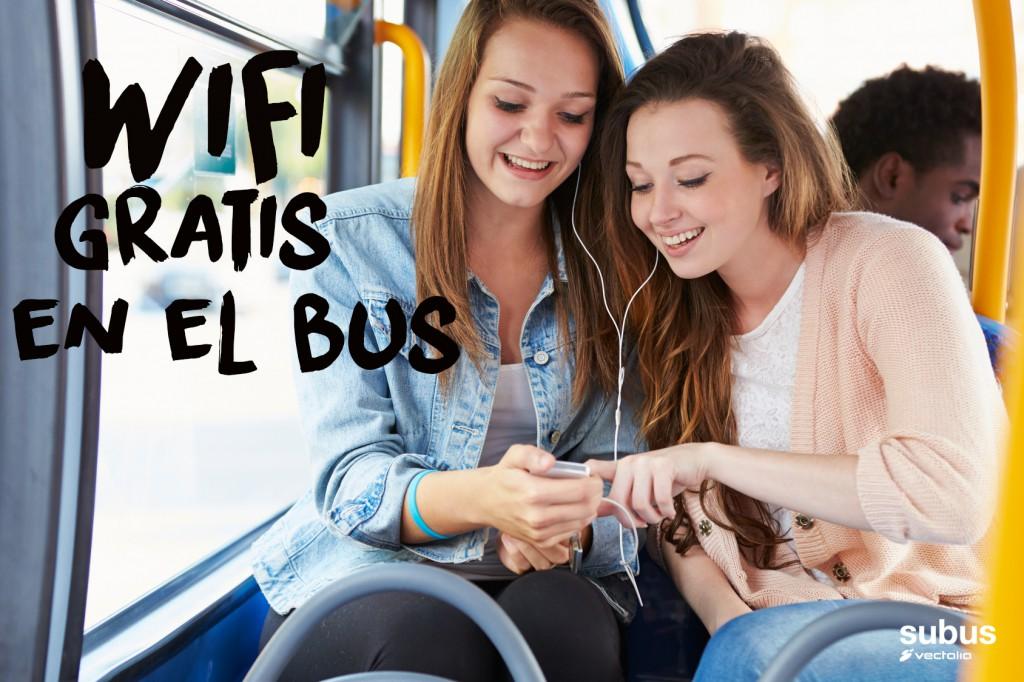 Disfruta de wifi gratis en el autobús en Alicante
