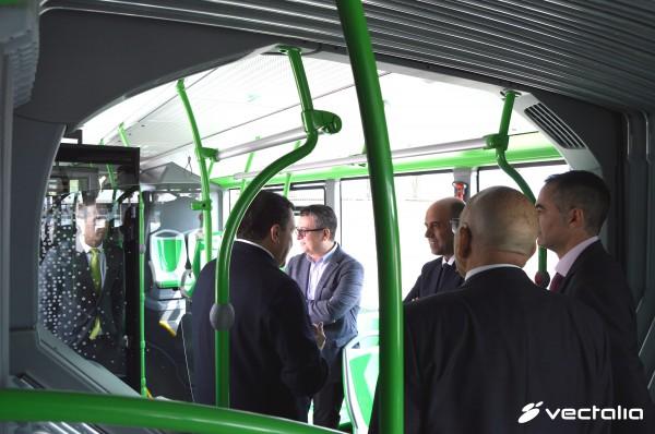Presentación de la nueva flota de autobuses de Alicante 2016