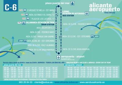 Servicios aerobus Alicante Aeropuerto