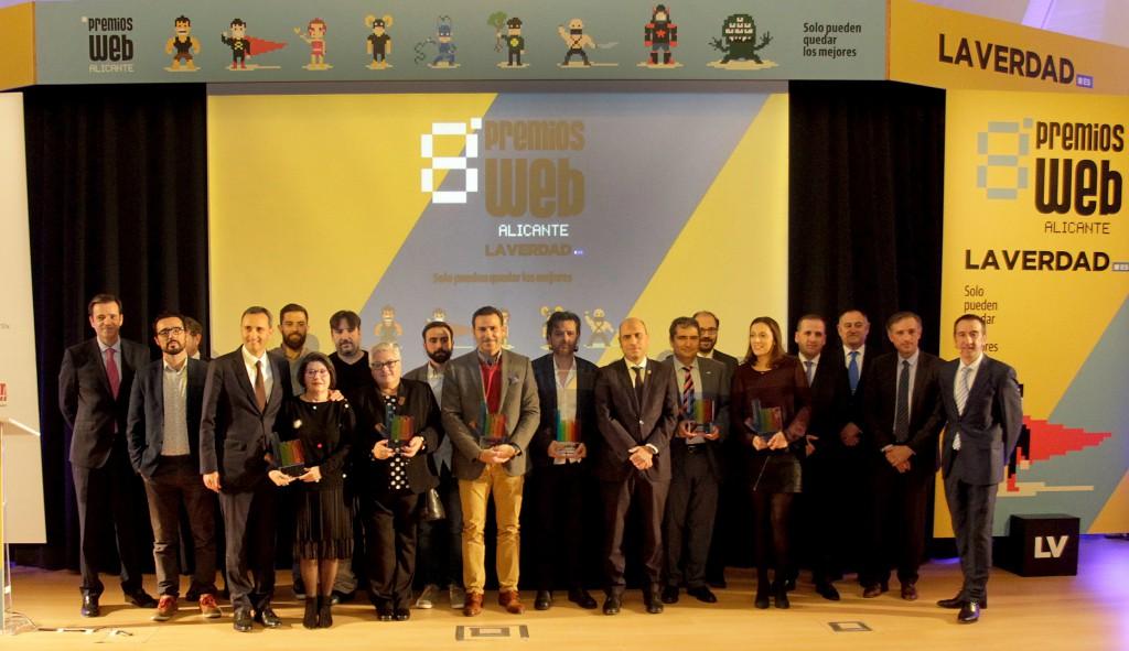 Alicante Bus, mejor app en los Premios Web de La Verdad