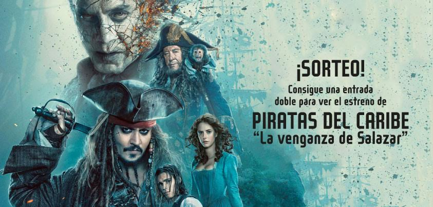 Sorteo Piratas del Caribe Vectalia Movilidad