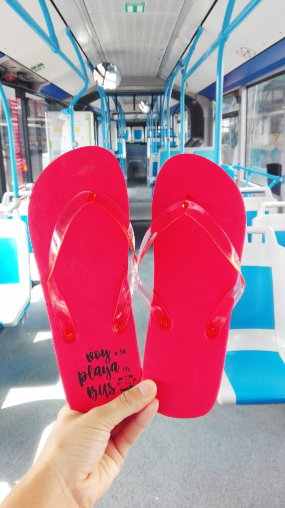 Chanclas Vectalia bus