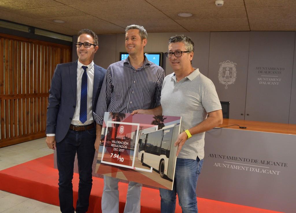 Rueda de prensa encuesta de satisfacción Alicante