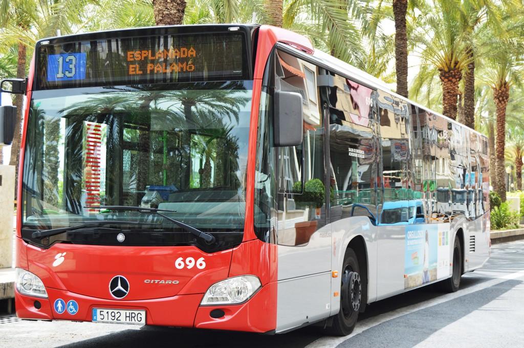 Transporte público en Alicante