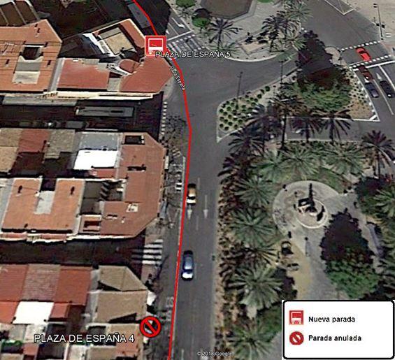 TRASLADO PARADA PLAZA DE ESPAÑA 4