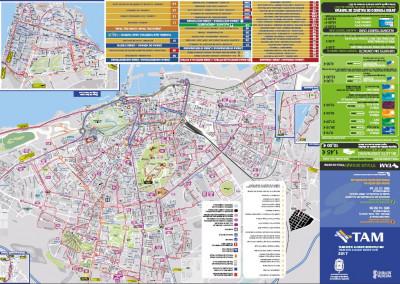 Mapa Universidad De Alicante.Planos Lineas Autobus Subus Alicante