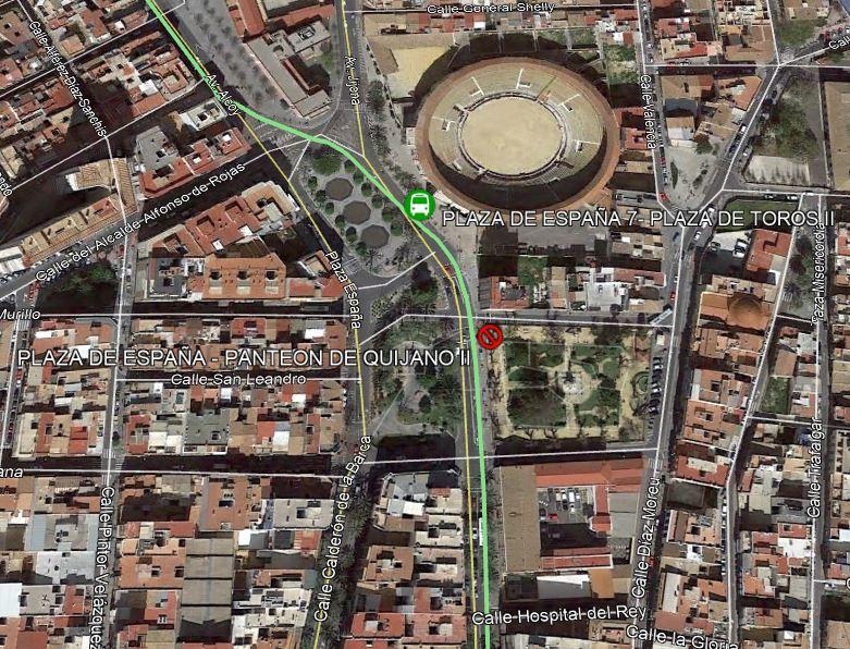 Linea 08 Panteón de Quijano