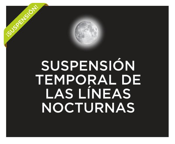 Slider Suspension Lineas nocturnas Covid19