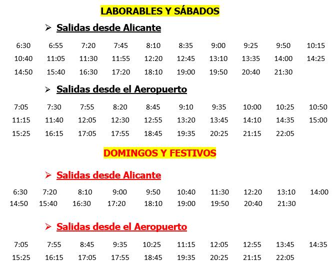 Horario castellano